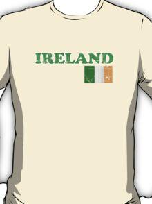 Ireland Vintage Flag St Patricks Day T-Shirt