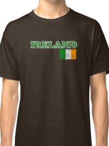 Ireland Vintage Flag St Patricks Day Classic T-Shirt