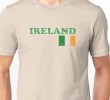 Ireland Vintage Flag St Patricks Day Unisex T-Shirt