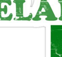 Ireland Vintage Flag St Patricks Day Sticker