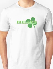 Ireland Lucky Clover St Patricks Day T-Shirt