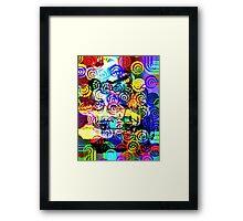Vivid colour of summer Framed Print