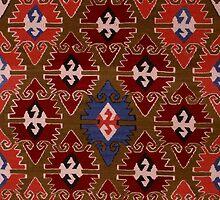 kilim design 2 by Ümit ÖZKANLI