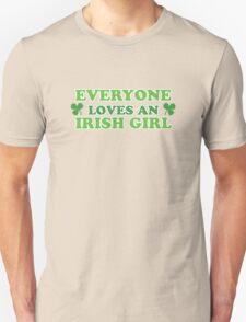 Green Everyone Loves An Irish Girl St Patricks T-Shirt