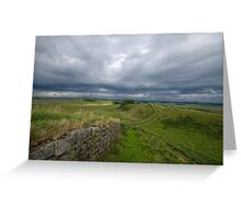Hadrian's Wall at Housesteads Greeting Card