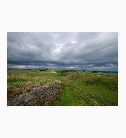 Hadrian's Wall at Housesteads Photographic Print