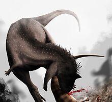 Carnotaurus sastrei by ChrisMasna