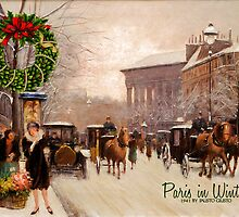Paris in Winter - Card by Doreen Erhardt