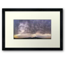 ©HCS Storm Cell May Framed Print