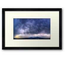 ©HCS Storm Cell May II Framed Print