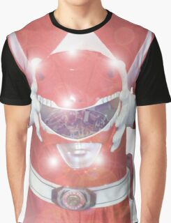 Red Ranger Poster Graphic T-Shirt