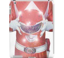 Red Ranger Poster iPad Case/Skin