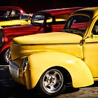 Stop Light - Hot Rods by Doreen Erhardt