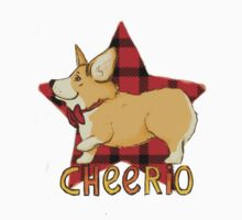 Pembroke Welsh Corgi - Cheerio ol'chap! One Piece - Long Sleeve