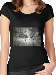 This way to Narnia Women's Fitted Scoop T-Shirt