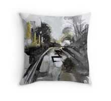 Upper Mutley Road Throw Pillow
