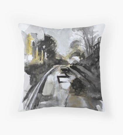 Upper Mutley Road Throw Pillow