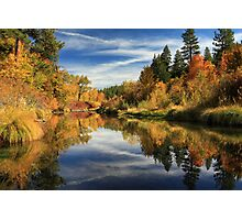 Susan River 10-28-12 Photographic Print