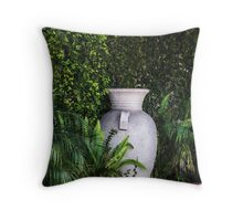 Corner Vase Throw Pillow