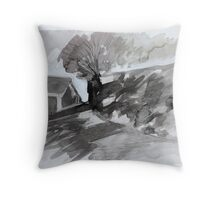 Hermitage Road Throw Pillow