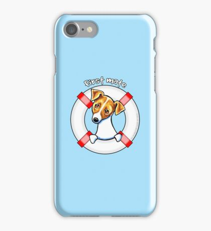 Jack Russell :: First Mate iPhone Case/Skin