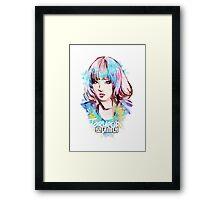 SNSD - Taeyeon Framed Print
