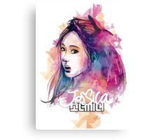 SNSD - Jessica Canvas Print