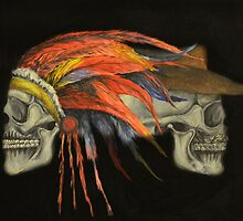 Cowboys and Indians by cadyfine