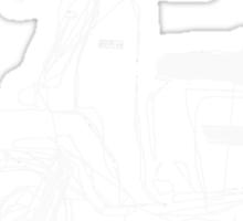 LAMBRETTA CUSTOM LINE ART DRAWING FOR GP200 Sticker