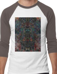 Ink splat design Men's Baseball ¾ T-Shirt