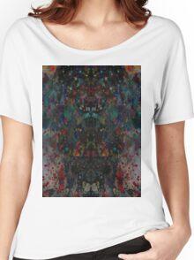 Ink splat design Women's Relaxed Fit T-Shirt