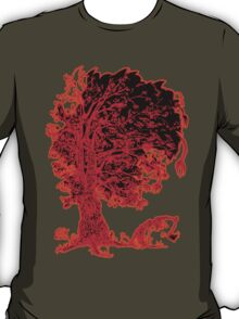 The tree - red redder orange T-Shirt
