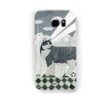 Beaming Cat Samsung Galaxy Case/Skin