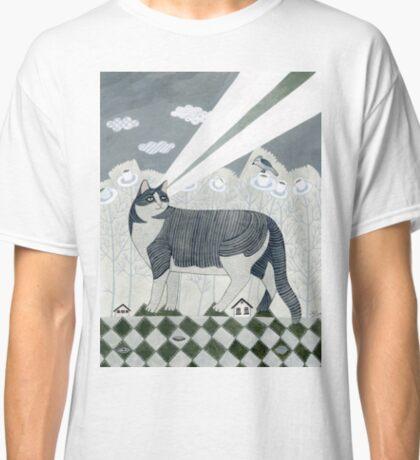 Beaming Cat Classic T-Shirt