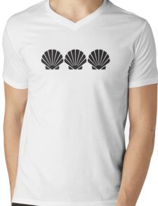 3 Sea Shells Mens V-Neck T-Shirt