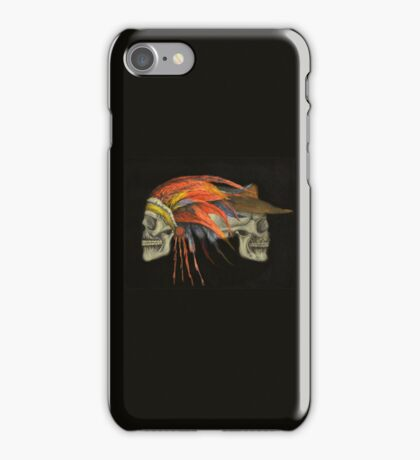 Cowboys and Indians iPhone Case/Skin