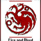 Game of Pixels: Targaryen by 6-0-3-9