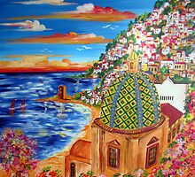 Il Golfo di POSITANO by Roberto Gagliardi