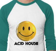 Acid House Smiley Men's Baseball ¾ T-Shirt