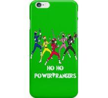 Ho Ho Power Rangers iPhone Case/Skin