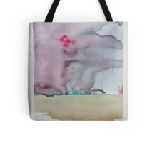 """And the ground shook and mountains exploded under the lights in the sky."" The Arrival of THEM Tote Bag"