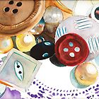 Doilies and Buttons by Sally Griffin