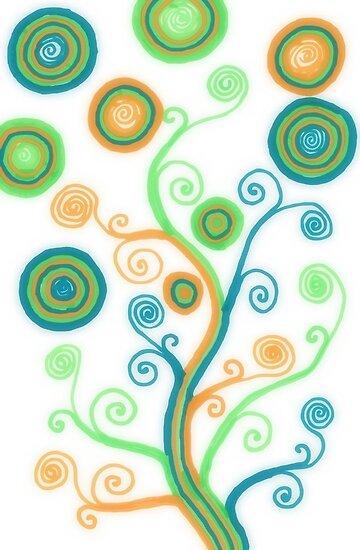 Glow Tree by shinyjill