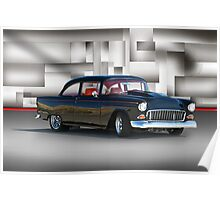 1955 Chevrolet Coupe VIII Poster