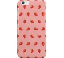 Cute Strawberry Pictures Pattern iPhone Case/Skin