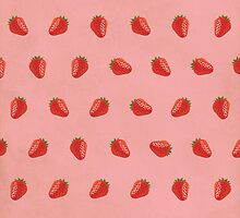 Cute Strawberry Pictures Pattern by thejoyker1986