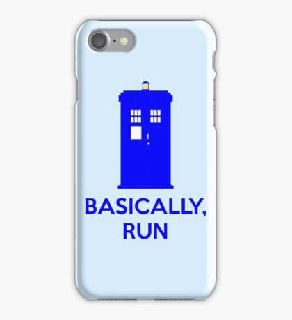 Basically, Run iPhone Case/Skin