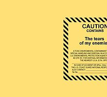 Caution. by itsmadgical