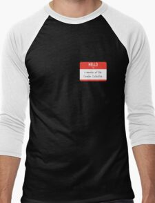 Cumber Collective Name Tag (small) Men's Baseball ¾ T-Shirt