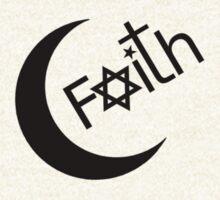 Faith - Black Graphic by Ron Marton